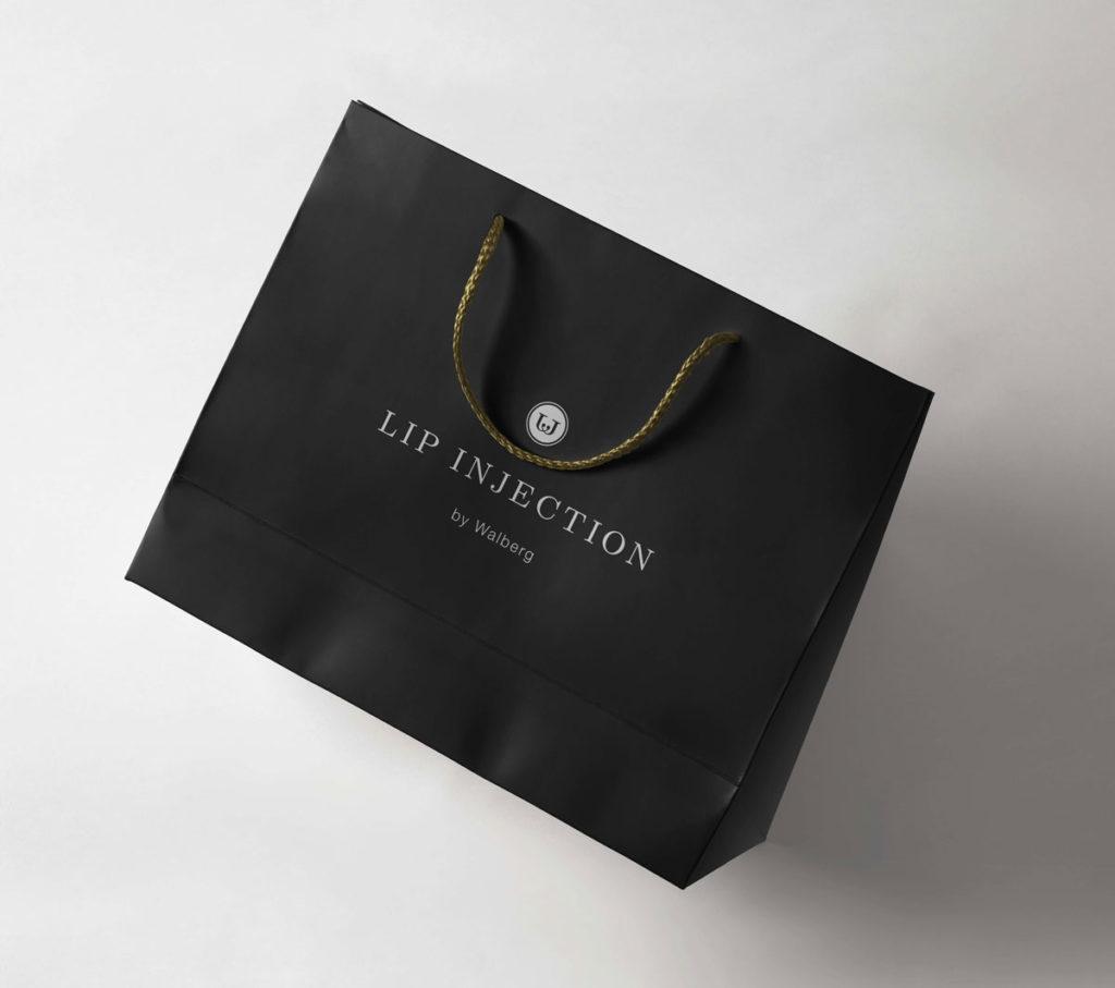 Designtouch Logo Design Lip Injection Bag